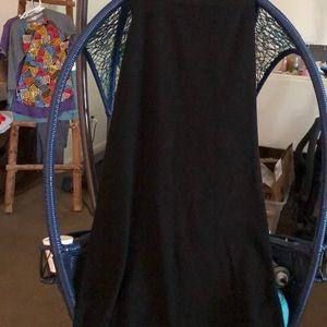 Liz claiborne skirt black long